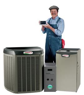 Heating all season heating cooling for Lennox program